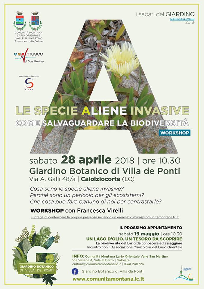 "Workshop ""Le specie aliene invasive"